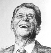 Ronald Reagan 84 Limited Edition Print by Art Terry